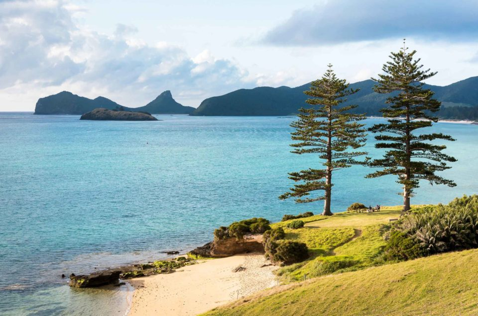 The Beaches Of Lord Howe Island