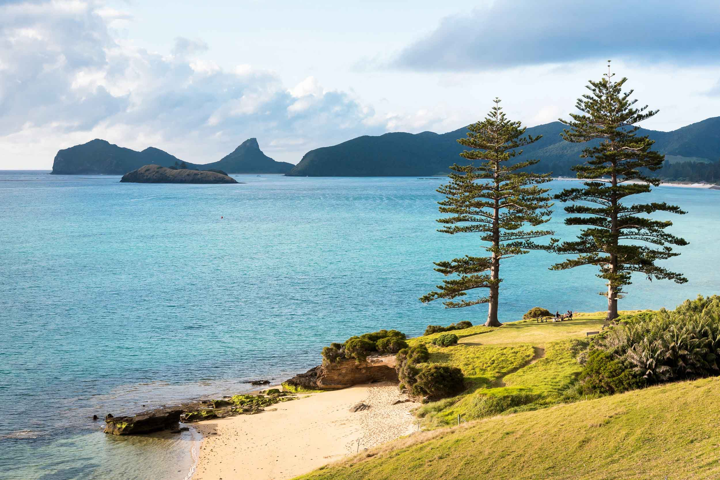 Beaches of Lord Howe Island